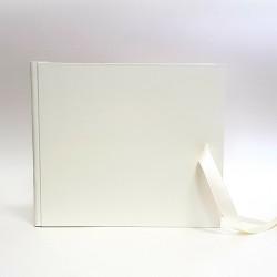 """Сватбена книга за пожелания """"Нежно екрю"""""""