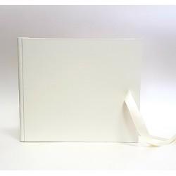 """Сватбена книга за пожелания """"Бял сатен"""""""