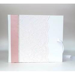 """Сватбена книга за пожелания """"Нежна дантела"""""""