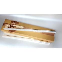 Ритуални свещи със златна нишка 01