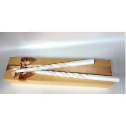 Ритуални свещи със златна нишка 02