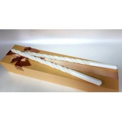 Ритуални свещи със златна нишка 03