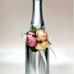 """Ритуално шампанско """"Екрю ,Роза и сребро"""""""