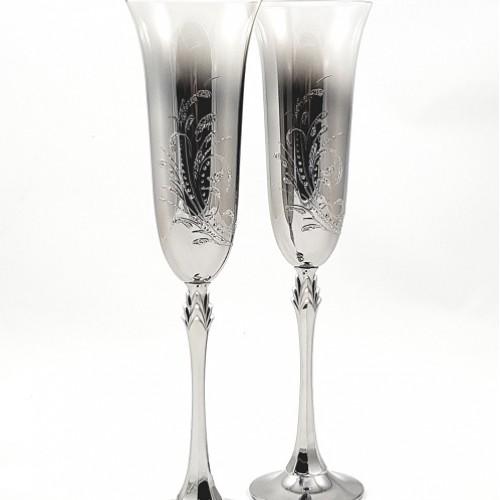 Кристални ритуални чаши 1006