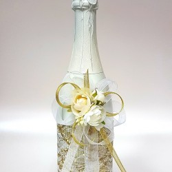 """Ритуално шампанско """"Златна дантела и екрю"""""""