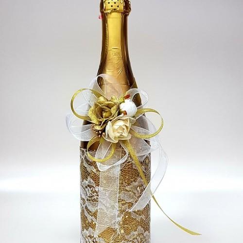 """Ритуално шампанско """"Дантела в злато"""""""