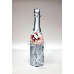 """Ритуално шампанско """"Пудра и сребърен блясък"""""""