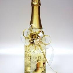 """Ритуално шампанско """"Златни частици 24К"""""""