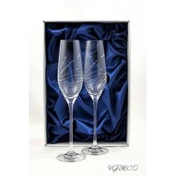 Кристални чаши с камъни Swarovski 1001