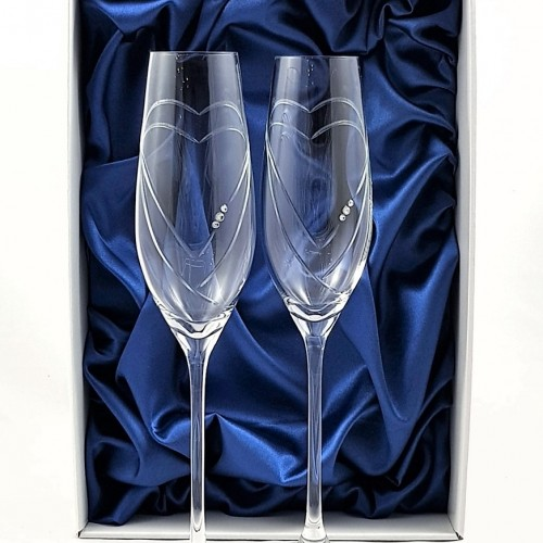 Кристални чаши с камъни Swarovski 1002