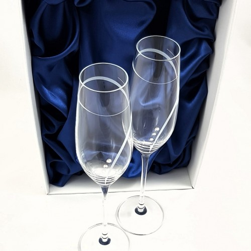 Кристални чаши с камъни Swarovski 1003