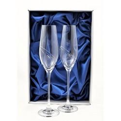 Кристални чаши с камъни Swarovski 1009