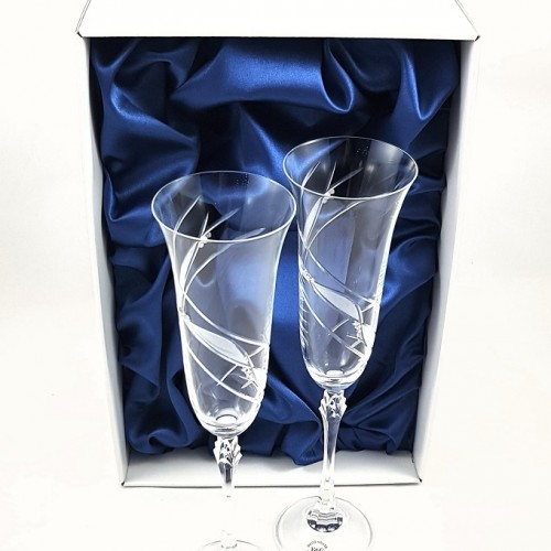 Кристални чаши с камъни Swarovski 1015