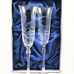 Кристални чаши с камъни Swarovski 1016