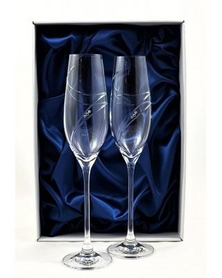Кристални чаши с камъни Swarovski 1005